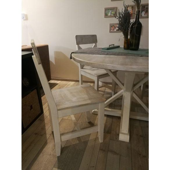 Ethel vintage tömör fa étkezőszék