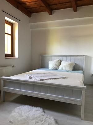 rusztikus ágy
